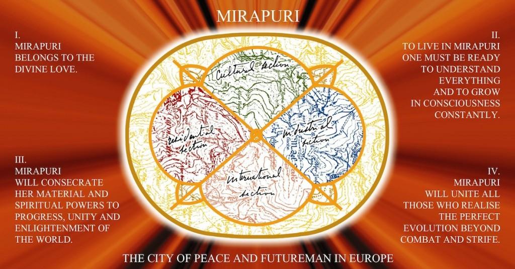 Mirapuri Stadtplan